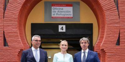 Nueva Oficina de Atención al Refugiado en Madrid.