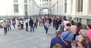 Ayuntamiento Madrid puertas abiertas