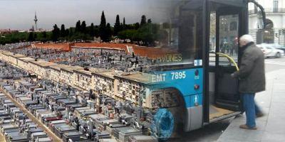 88 autobuses refuerzan ya el servicio a los cementerios.