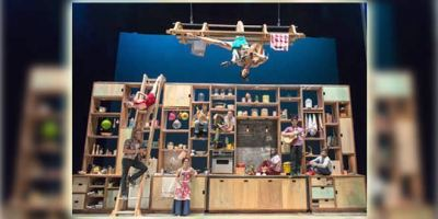 Cocina y circo se unen en el Circo Price.