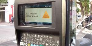 Restricciones aparcamiento zona SER