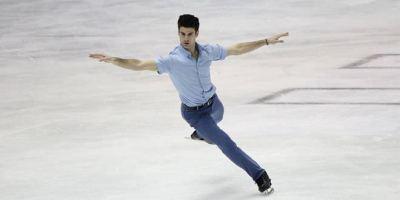 Javier Raya, otro brillante patinador madrileño en el Mundial.