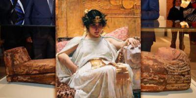 Cleopatra y la cultura egipcia conquistan Madrid.