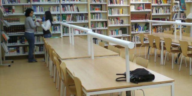 Bibliotecas horario examenes