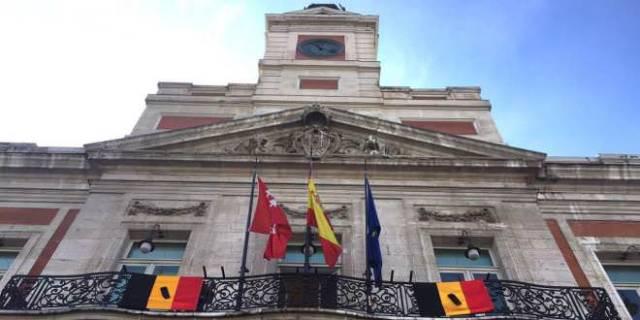 Silencio en Madrid por atentados Bruselas