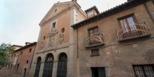 Tumba de Cervantes. Convento de las Trinitarias Descalzas