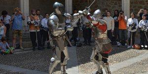 Esgrima en el Castillo de Manzanares el Real