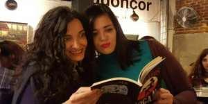 Tery Logan con Raquel Grande