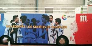 Leganés sube a Primera División