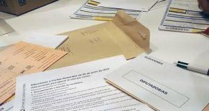 voto por correo cortes generales 2019