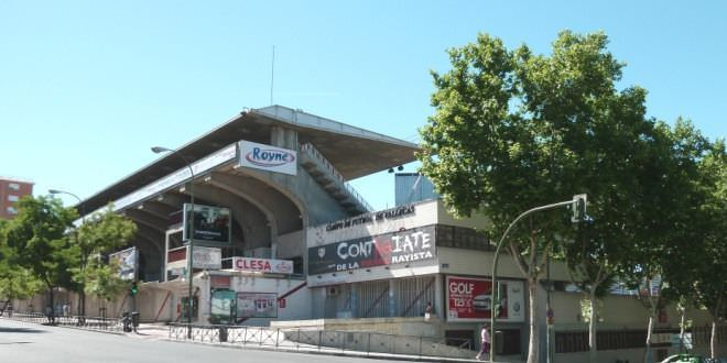 Teresa Rivero Stadium in Madrid (Spain).