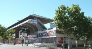 Teresa Rivero Stadium in Madrid (Spain).