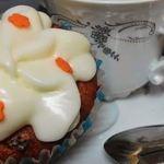 'Cupcakes' de tarta de zanahoria y manzana
