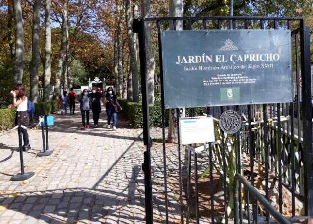 jardin capricho entrada