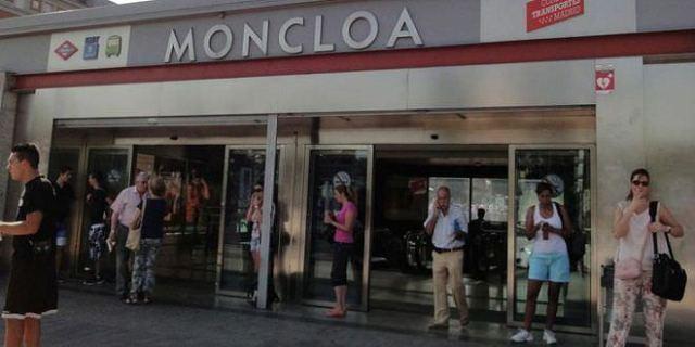 Metro del intercambiador de Moncloa