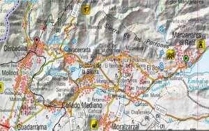 Mapa ruta Camino de Santiago etapa 3