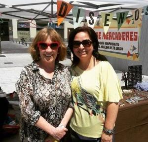 Carmen Maura en el Mercado Barceló