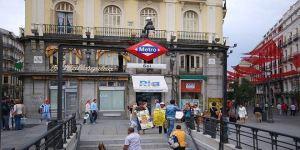 Linea 1 metro de de Madrid