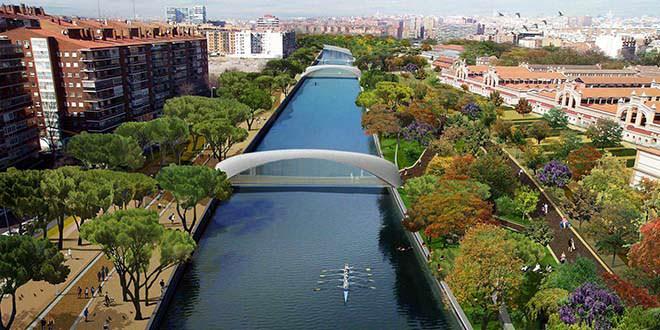río manzanares renaturalización