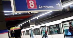 Reapertura línea 8 de Metro