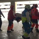 Herido de gravedad un obrero que trabajaba en la reforma del Wanda Metropolitano