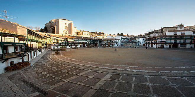 Plaza Mayor Chinchón   Créditos Web Oficial de Turismo de Chinchón