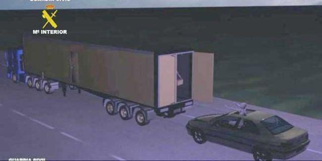 robo camiones surfeando