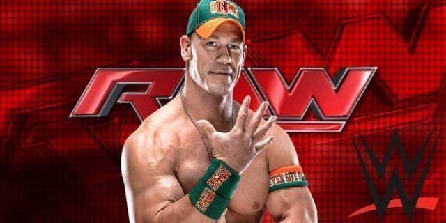 John Cena - Luchador RAW / Créditos web oficial WWE