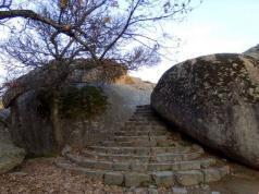 Silla de Felipe II piedras