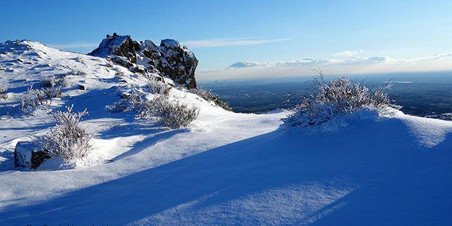 Cerro San Pedro - Tres Cantos al fondo