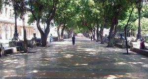 Paseo prado y retiro candidatas Unesco