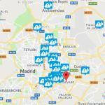 Una gran avería provoca cortes de agua en la zona este de Madrid