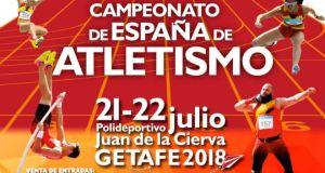 cartel campeonato atletismo getafe