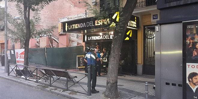 Desalojo Calle Alcalá 143 Bomberos Madrid