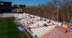 Rayo Vallecano Estadio Vallecas Interior