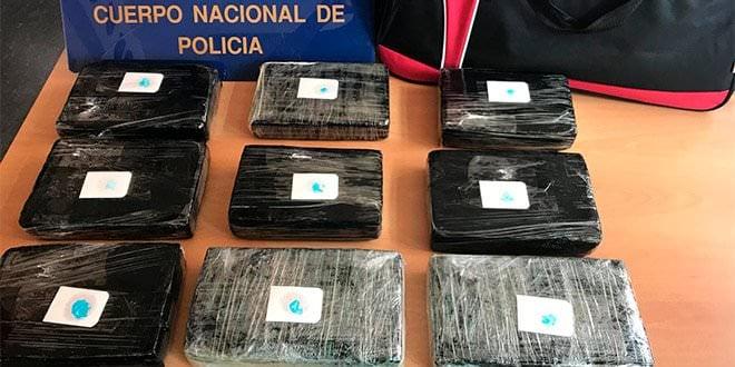 Policía Nacional droga cocaína Madrid