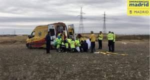 SAMUR Accidente Motocross Camino de la Magdalena