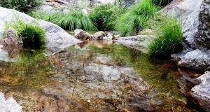 Cascada hornillo chorrera río