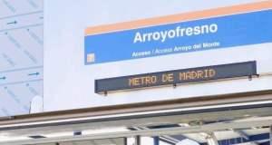 metro Arroyofresno cartel