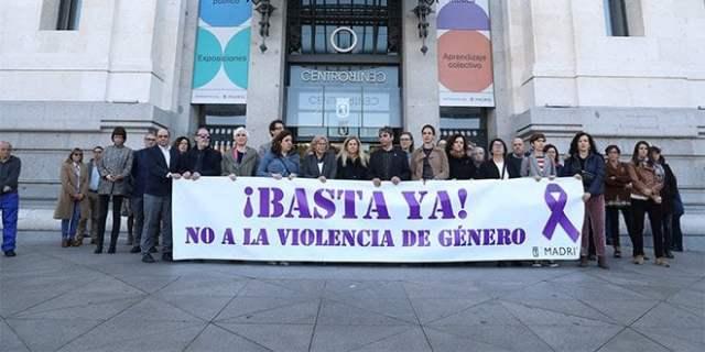 Ciudad Lineal Violencia de Género 8M