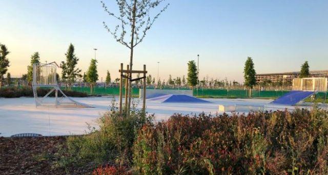 skate park en jardines wanda
