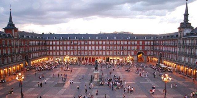 Distritos de Madrid.Plaza Mayor