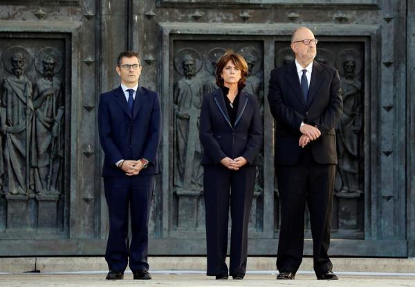 Exhumación franco valle caídos miembros gobierno
