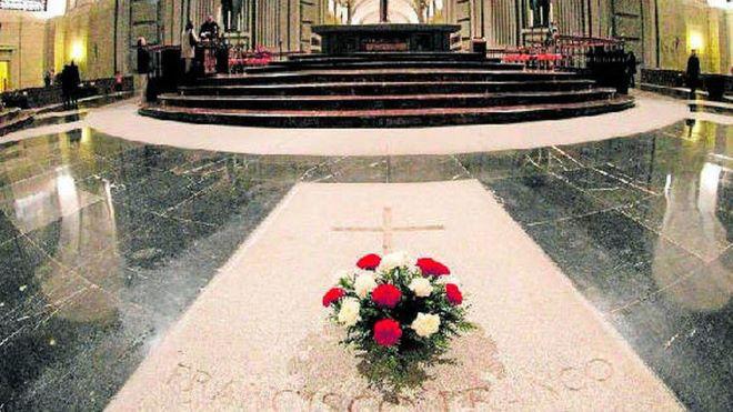 exhumacion valle caidos tumba franco