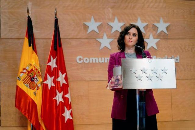 Madrid moratoria impuestos autonómicos isabel díaz ayuso