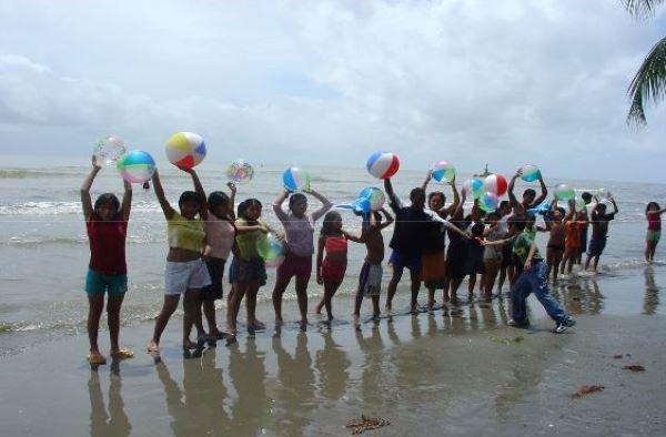 menores del programa vacaciones en familia