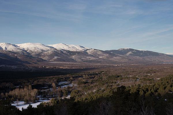 Valle del Lozoya en la Sierra Norte de Madrid