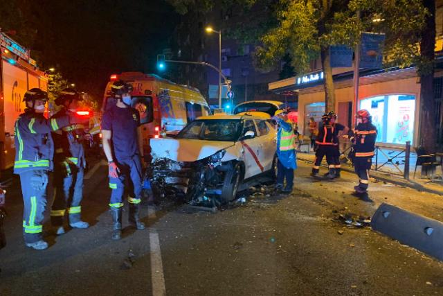atropello taxista Bravo Murillo