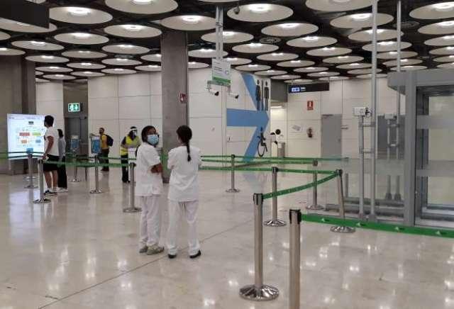 aeropuerto controles entrada covid19