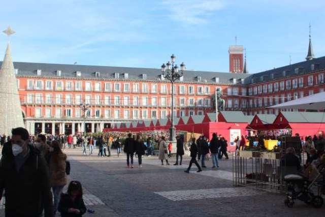 plaza mayor navidad 2020